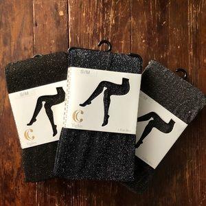 Three pairs of C tights